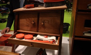 Pitti – Turms Shoe Care Kits, Stands, and Walnut Shoeboxes