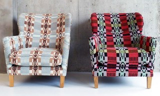 Eadie Welsh Blanket Armchair by Donna Wilson