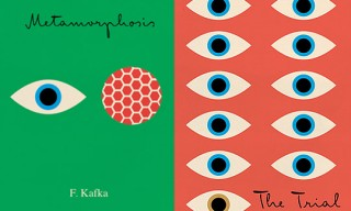 Peter Mendelsund's Kafka Book Covers
