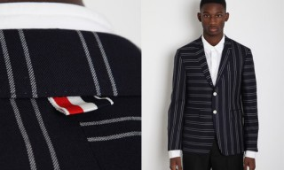 Thom Browne Spring/Summer 2012 Mixed Stripe Blazer