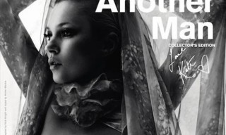 Another Man Magazine – Special Paris Fashion Week Cover with Kate Moss