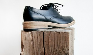 Buttero Round-Toe Derby Shoe