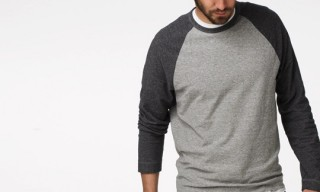 James Perse – Vintage Baseball Raglan