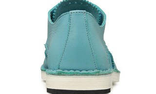 Pierre Hardy Turquoise Blue Wingtip Shoes