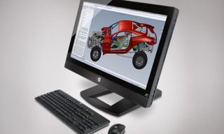 The HP Z1 – All in One Customisable Workstation