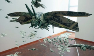 Sipho Mabona – Flying Money Locust Swarm