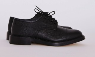Tricker's for Très Bien – Grain Leather Derby