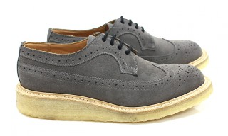 Tricker's Grey Golosh Brogues for Eight Hundred Ships