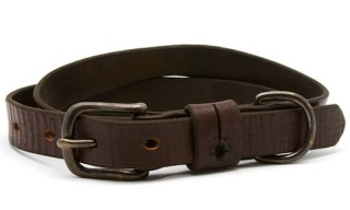 MAKR for Unis – Vintage Leather Strapping Belt