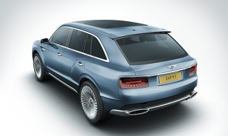 The Bentley EXP 9 F All-wheel Drive luxury SUV – Concept Car