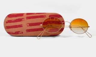 Cutler & Gross for Comme des Garçons – Bronze Oval-Framed Metal Sunglasses