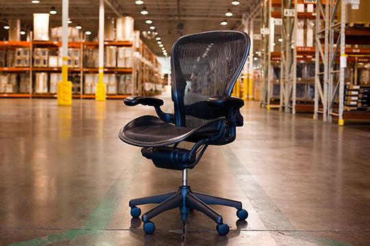 Herman Miller Factory Tour Aeron Chair Assembly