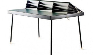 'Homework Table' – Accordian Desk by Nika Zupanc