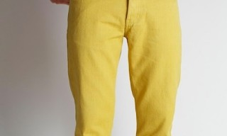 Industry of All Nations – Yellow Clean Jeans
