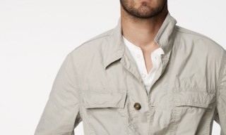 James Perse – Utility Shirt Jacket