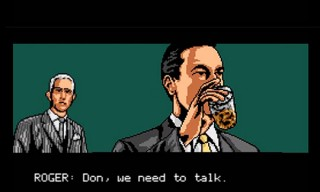 Mad Men 8 Bit – Choose Your Own Adventure – Game
