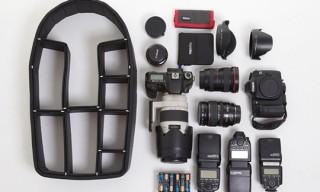 TrekPak – Padded Adjustable Camera Gear Backpack Inset