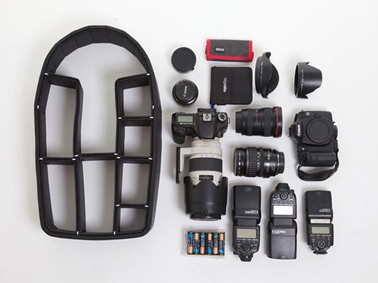 TrekPak - Padded Adjustable Camera Gear Backpack Inset | Highsnobiety