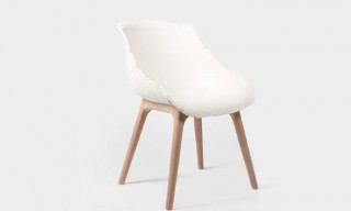 From Yuhang – Bamboo Paper Pulp Gú Chair