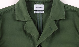 Norse Projects Aardal Cotton Blazer