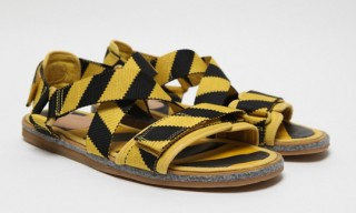 Bernhard Willhelm for Camper – Stripe Sandals