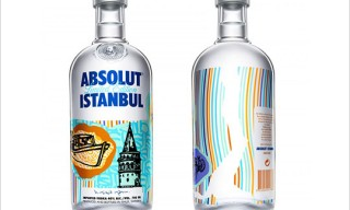 ABSOLUT Istanbul Bottle by Yigit Yazici
