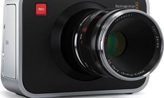 Blackmagic Cinema Camera – Coming in July