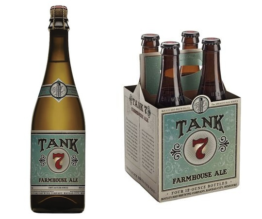 Beer Boulevard Brewing Co Tank 7 Farmhouse Ale