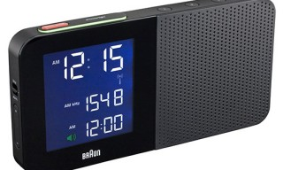 BRAUN Digital Alarm Clock Radios – Travel Size Included