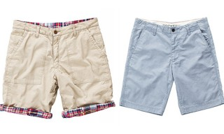 Dockers Shorts for Spring/Summer 2012 – Slim, Flat, Reverse
