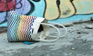 Freitag Reference R515 Williams Woven Beach Tote Bags