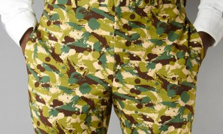 Gitman Bros. Camo Shorts