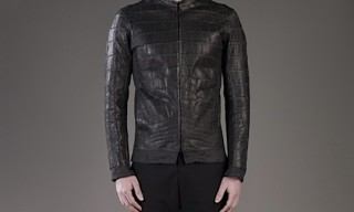 Issac Sellam Experience Crocodile Jacket