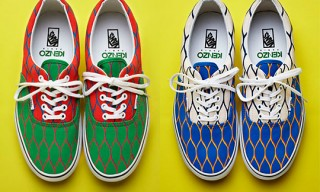VANS Era for Kenzo Sneakers – Summer 2012