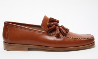 Mr Hare Cognac Mailer Loafers