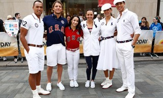 Ralph Lauren Team USA Closing Ceremony Uniforms for London 2012