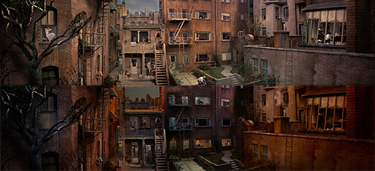 Alfred hitchcock 39 s 39 rear window 39 time lapsed single shot rework highsnobiety - La finestra sul cortile youtube ...