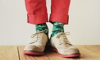 Del Toro, Richer Poorer Socks – Shoes, Socks – Burgers, Fries