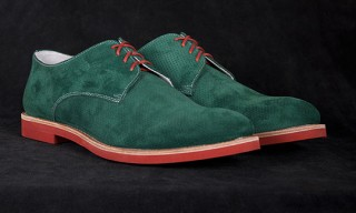 Seize sur Vingt Perforated Buck Shoes for Summer 2012