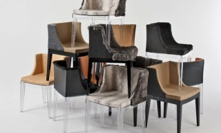 Lenny Kravitz and Philippe Starck for Kartell – Furry Chairs