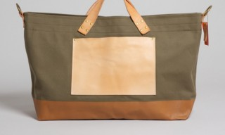 The Superior Labor Khaki Canvas Tote