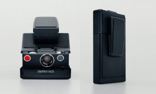 Impossible Project Black Label Polaroid SX-70 Camera Kit