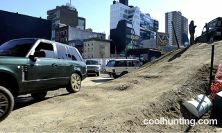 "Watch | Land Rover ""Urban Jungle"" Course – Timelapse"