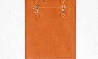 Antiatoms – Leather iPad Envelope Case