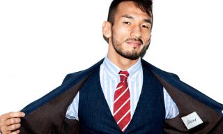 Hidetoshi Nakata – Mr Porter – Editorial