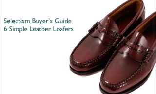 Buyer's Guide | 6 Simple Leather Loafers