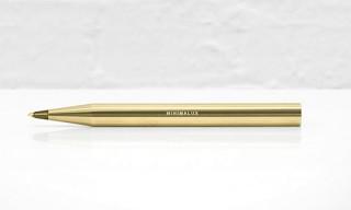 Minimalux – Brass Ballpoint Pen