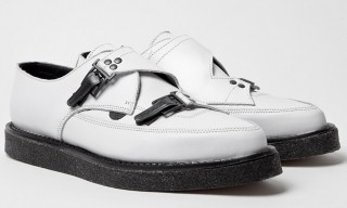 Underground for Mugler – White Creeper Shoe