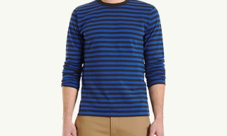 agnes b. for Barneys New York Striped Long Sleeve Shirt