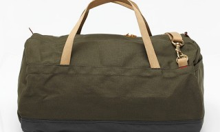 Archival Clothing Truck Tarp Duffle Bag